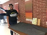 MAGIC Students Make Blankets for Women in Need