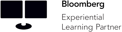 The logo for Bloomberg Experiential Learning Partner.