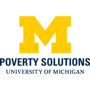 umich poverty solutions logos