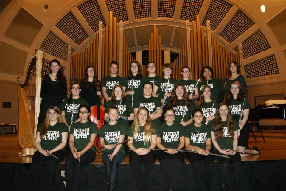 Emerald Flutes in Pease Auditorium