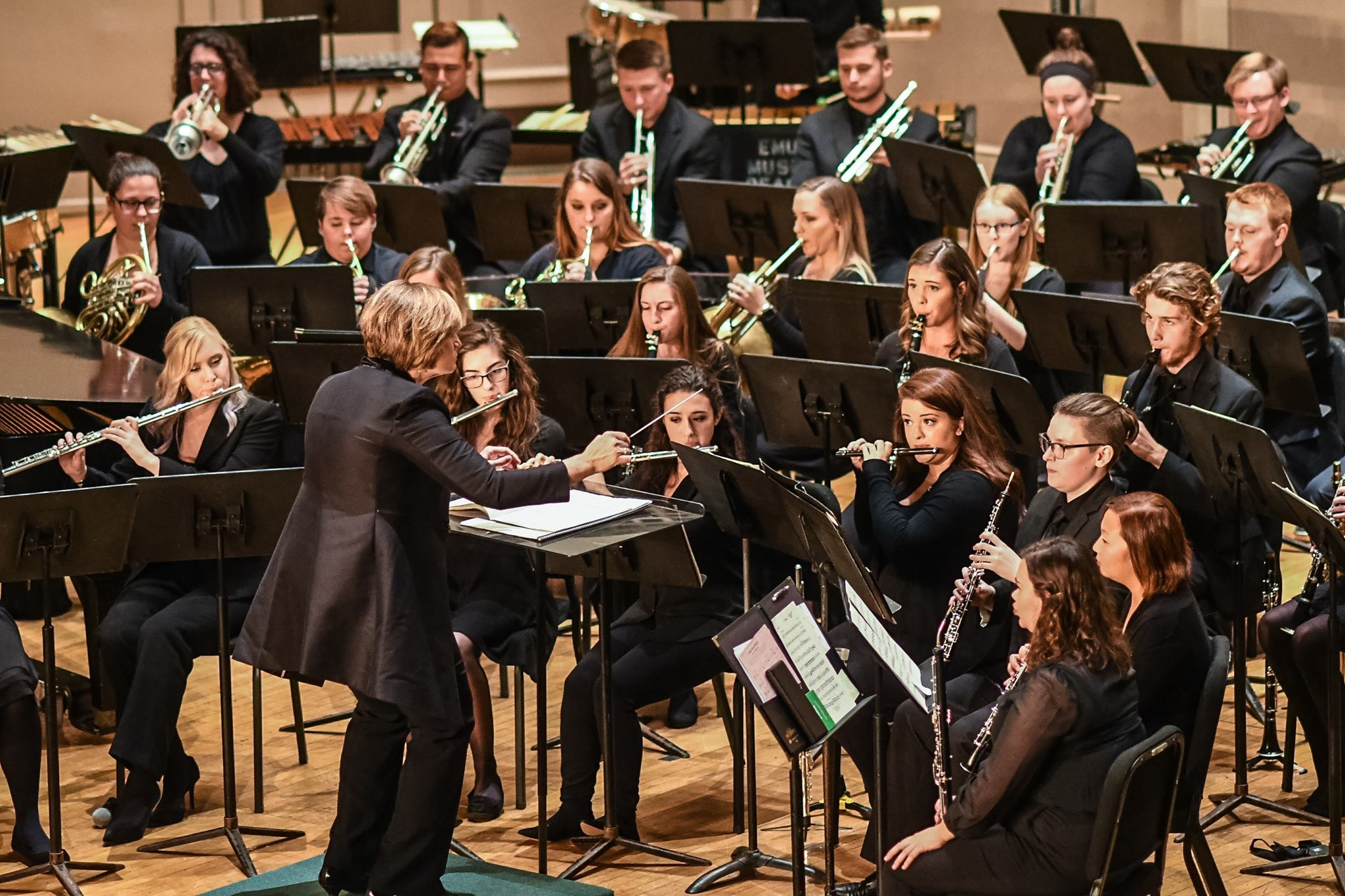 A photo of the Concert Band