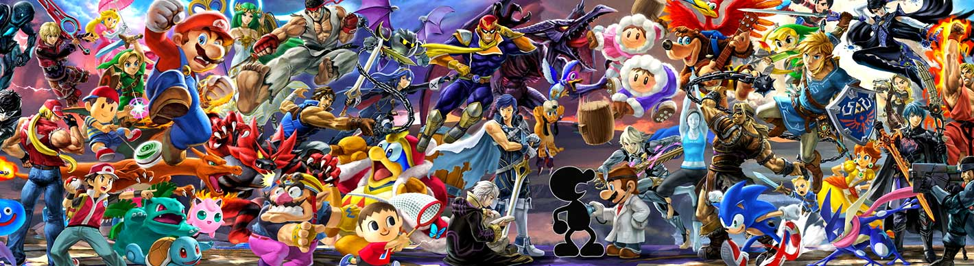 Super Smash Brothers screen shot