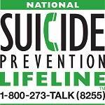 National Suicide Prevention Hotline Graphic